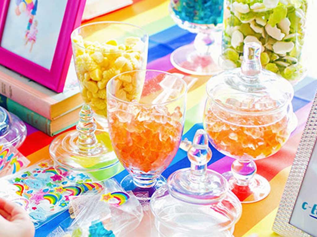 Candy Bar na párty nebo oslavu